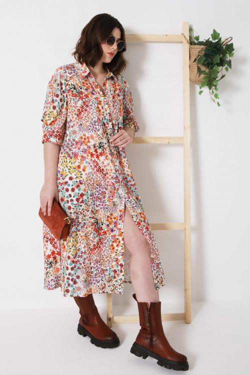RICAZA869-75831-JC483 robe-longue-boutonnee-en-viscose-imprimee-liv-5-10-fevrier