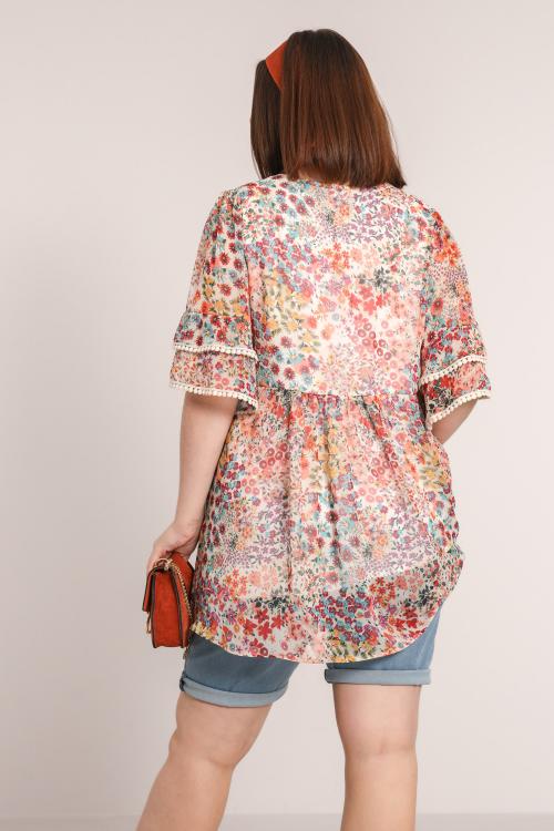 TONATO785-75831-JC483 (vu dos) blouse-en-voile-imprime